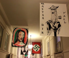 Mike Kelley banners