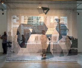 Naama Arad window piece